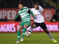 Guimarães-Sporting (LUSA/ Hugo Delgado)