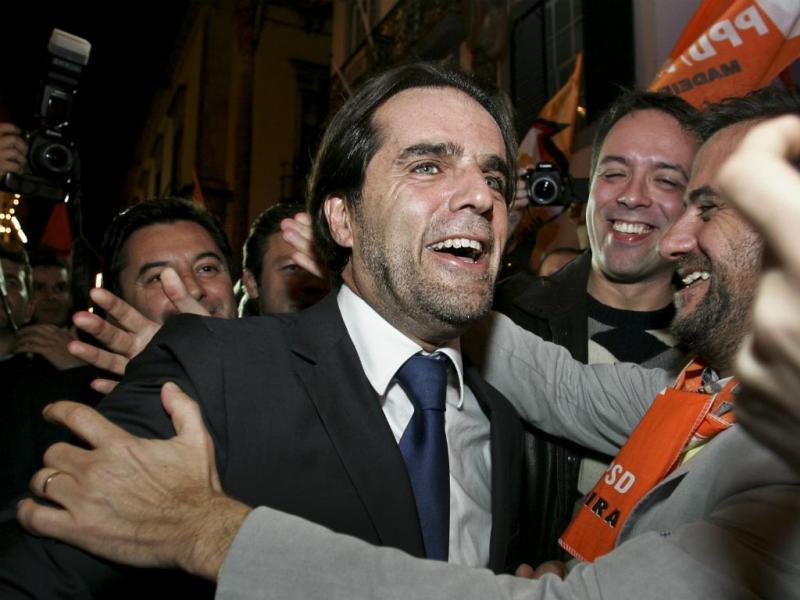 Miguel Albuquerque é o novo presidente do PSD Madeira