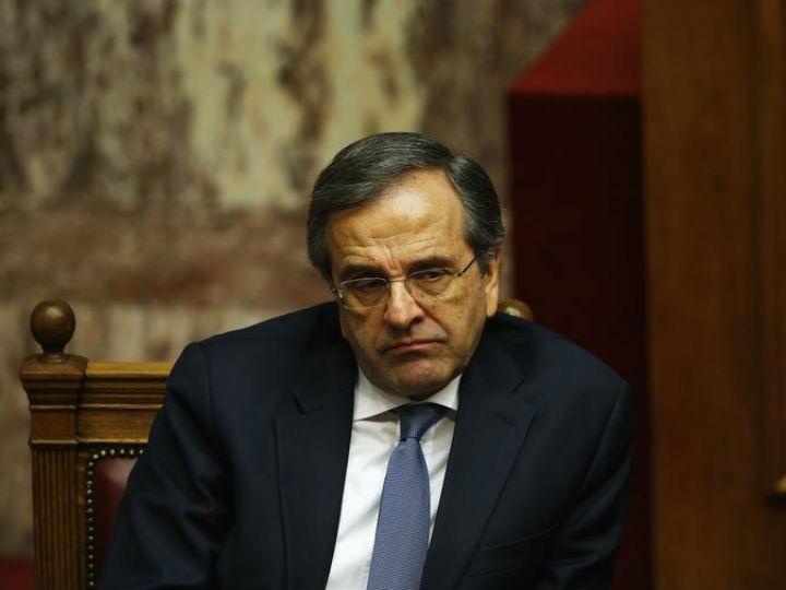 O primeiro-ministro da Grécia Antonis Samaras (Reuters)