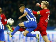 Hertha Berlim vs Bayer Leverkusen (Reuters/Tobias Schwarz)