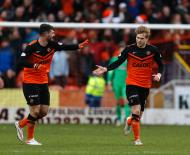 Golo do Dundee United