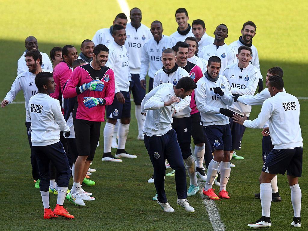 Treino FC Porto (LUSA/ José Coelho)