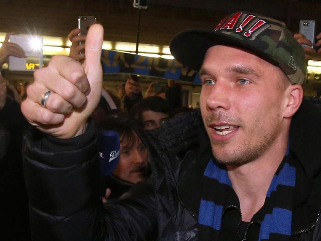 Lukas Podolski (EPA/ Matteo Bazzi)