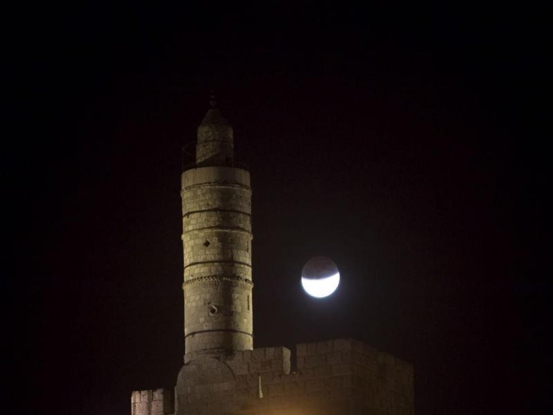 Torre de David, Jerusalém (REUTERS)