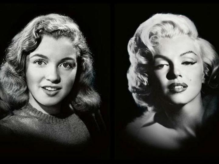Marilyn Monroe na campanha da Max Factor (Twitter)