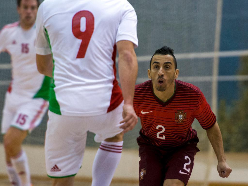 Portugal-Hungria Futsal (LUSA/ Ricardo Graça)