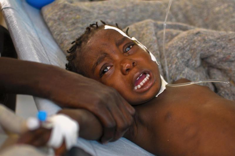 Depois do terramoto, a cólera (REUTERS)