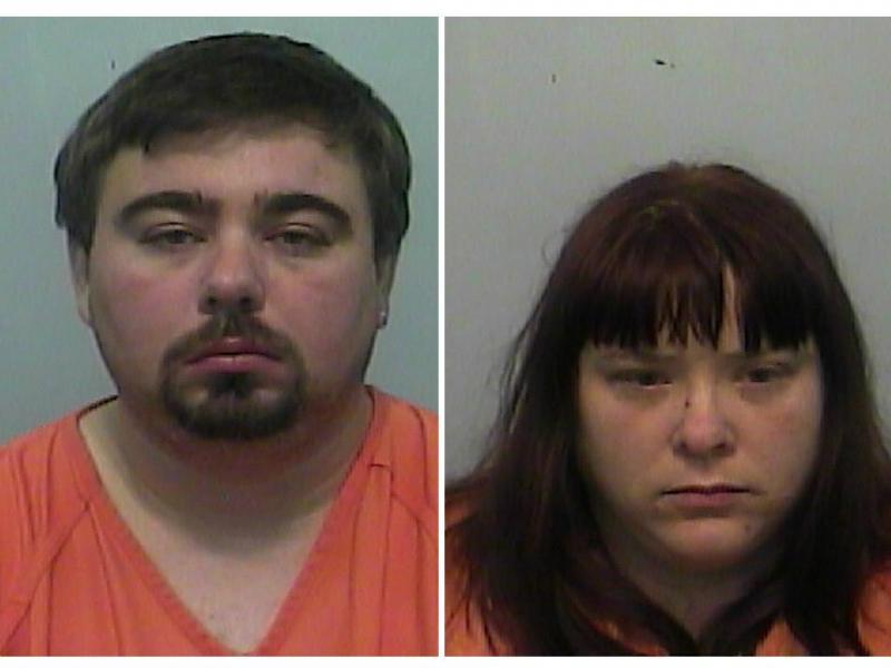 Keith e Misty Kornegay, pais das crianças (Columbia County Sheriff's Office)