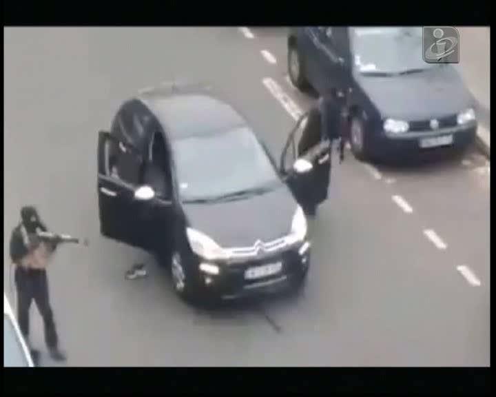 Novo vídeo-amador do ataque ao «Charlie Hebdo»