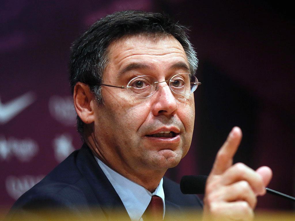 Josep Bartomeu (REUTERS/ Albert Gea)