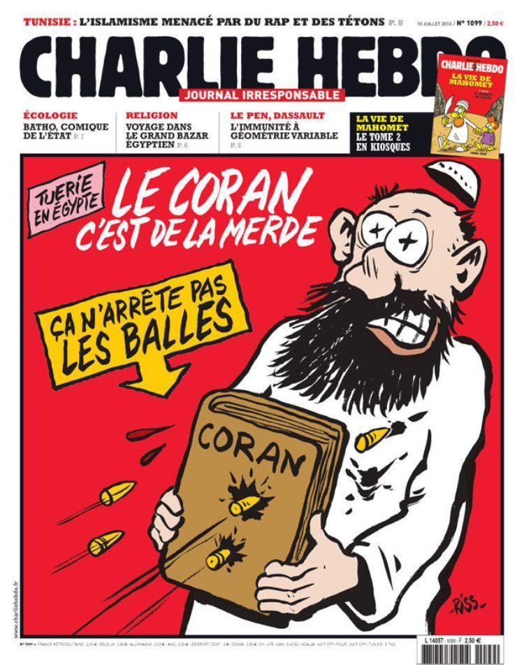 Charlie Hebdo, fevereiro 2012