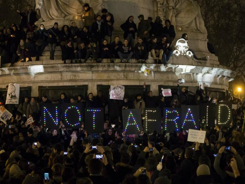 Manifestação «Je Suis Charlie» em Paris [Lusa]