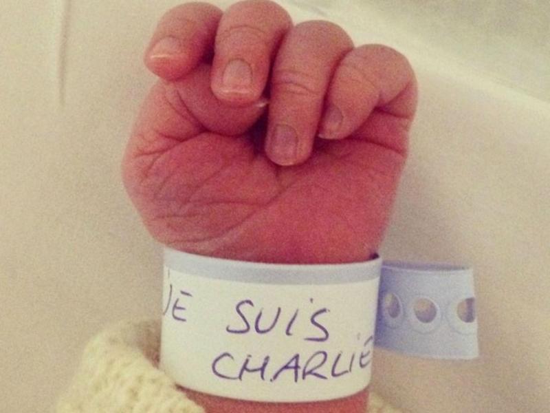 «Je suis Charlie» (Fonte: Instagram/twitter)