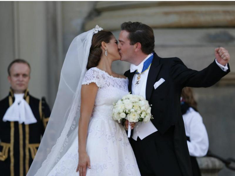 Casamento (REUTERS/Bjorn Larsson Rosvall/Scanpix)