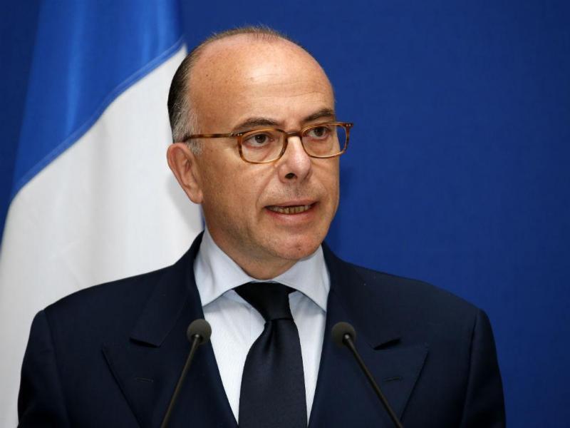 Ministro francês do Interior, Bernard Cazeneuve (REUTERS/Benoit Tessier)