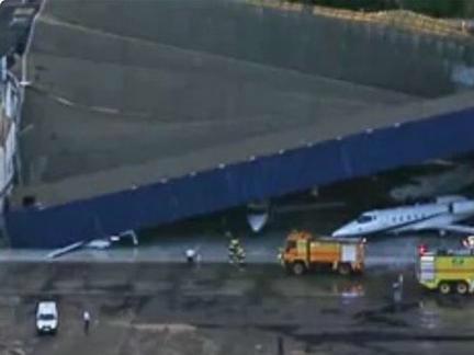 Temporal causa queda de teto do Aeroporto em São Paulo