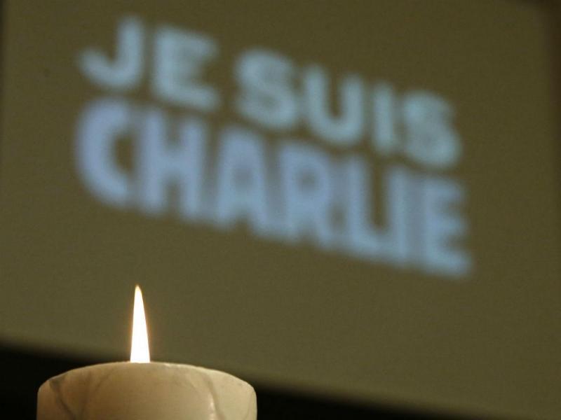 Manifestações de homenagem às vítimas do «Charlie Hebdo» (REUTERS)
