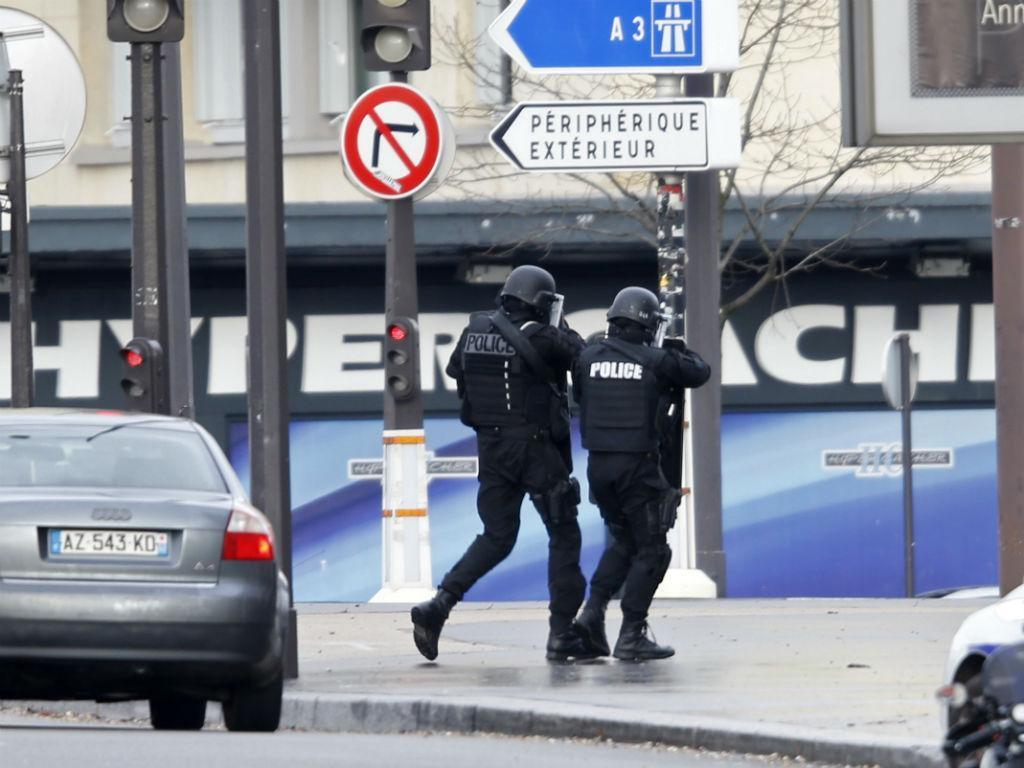 Tiroteio e sequestro na Porte de Vincennes, em Paris (REUTERS)