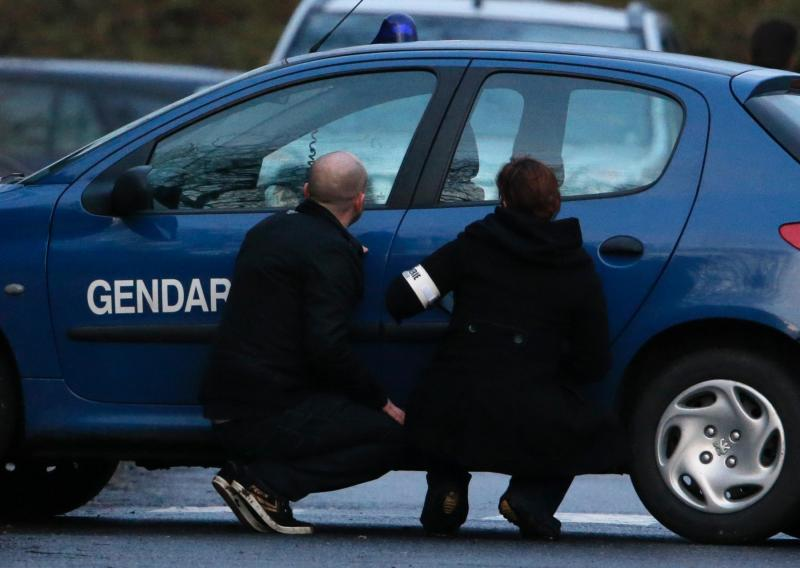 Cerco da polícia aos irmãos Kouachi (REUTERS)