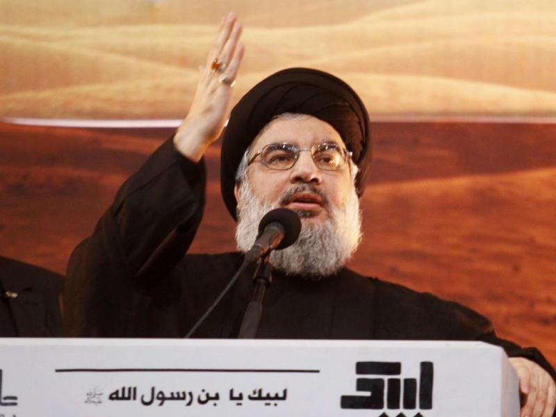 Hassan Nasrallah (Reuters)
