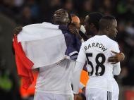 Swansea-West Ham (REUTERS/ Rebecca Naden)