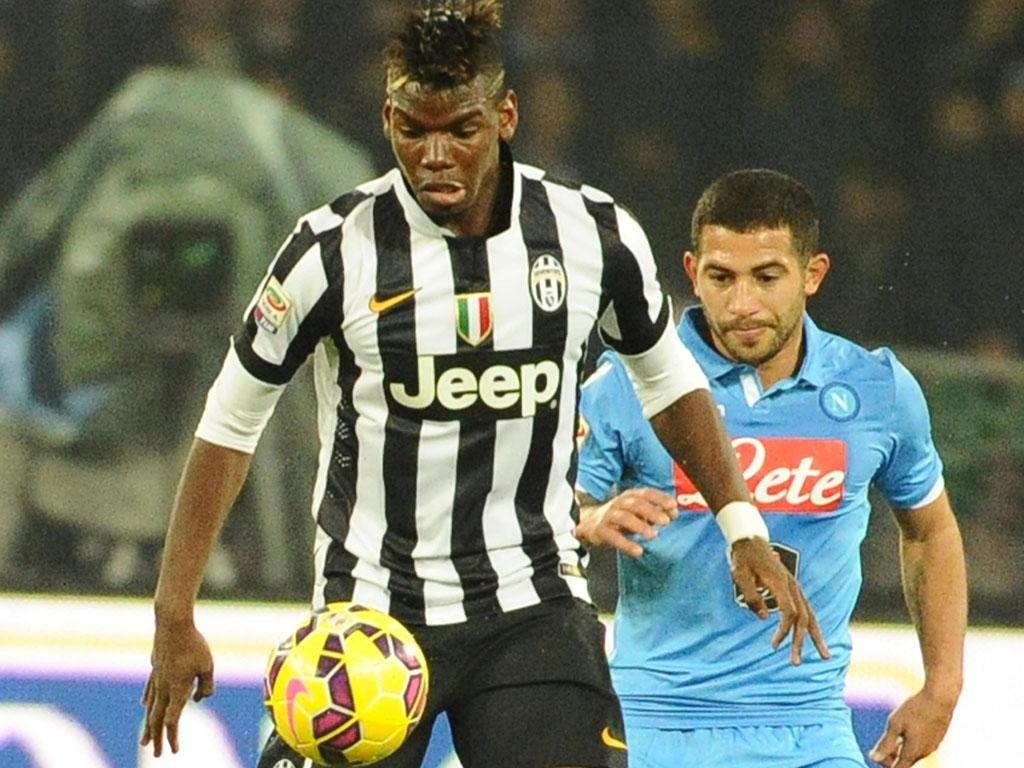 Napoles-Juventus (EPA/ Ciro Fusco)