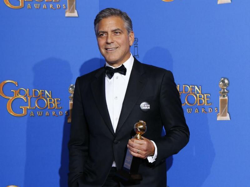 Globos de Ouro 2015 Vencedores - George Clooney