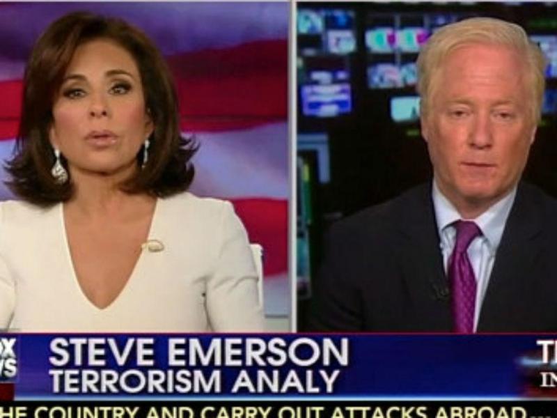 Fox News: Jeanine Pirro e Steve Emerson (Reprodução Youtube)