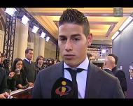 James: «Uma palavra para Ronaldo? Fenómeno»