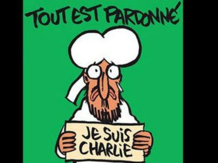 Capa «Charlie Hebdo» (fonte: twitter)