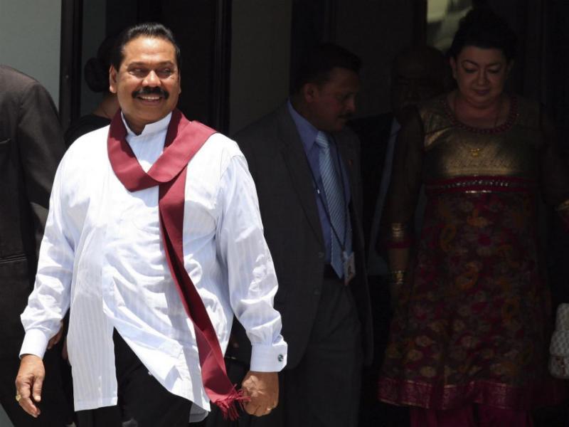 Mahinda Rajapakse [Reuters]