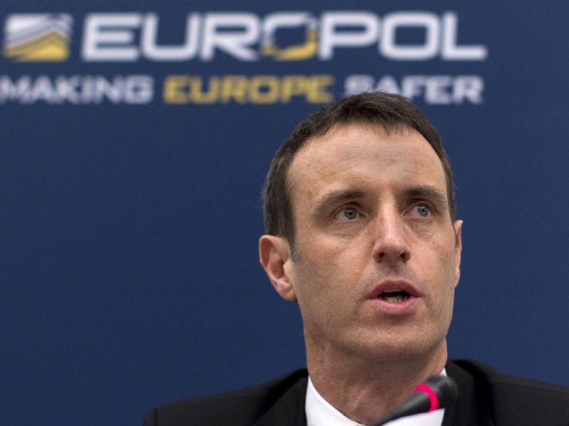 Diretor da Europol, Rob Wainwright (REUTERS)