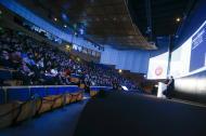 Platini no Football Talks (foto FPF)