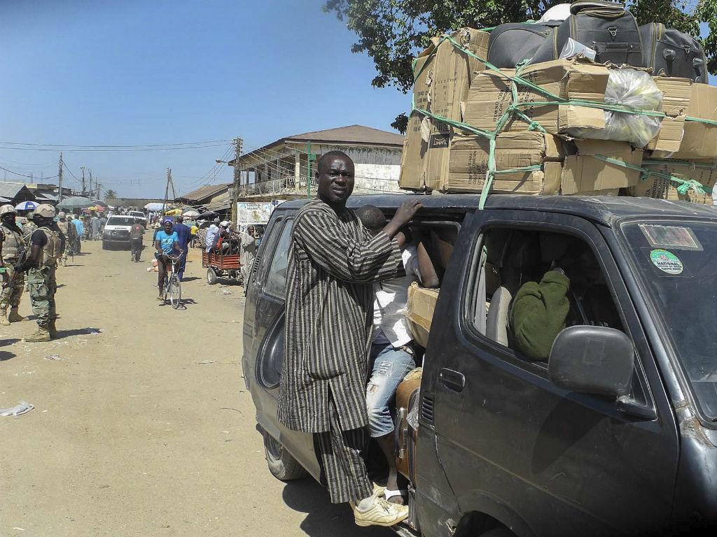 Ataques em Baga «EPA/STR»