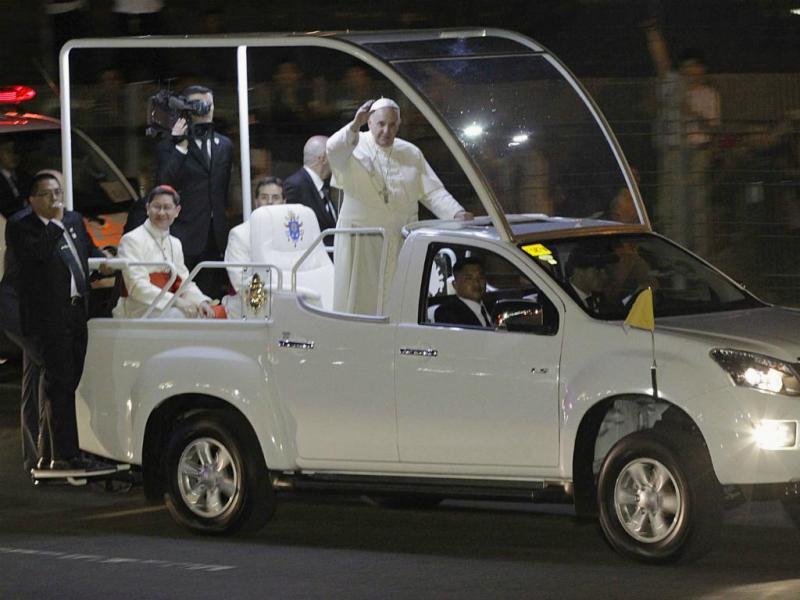 Papa Francisco visita Filipinas