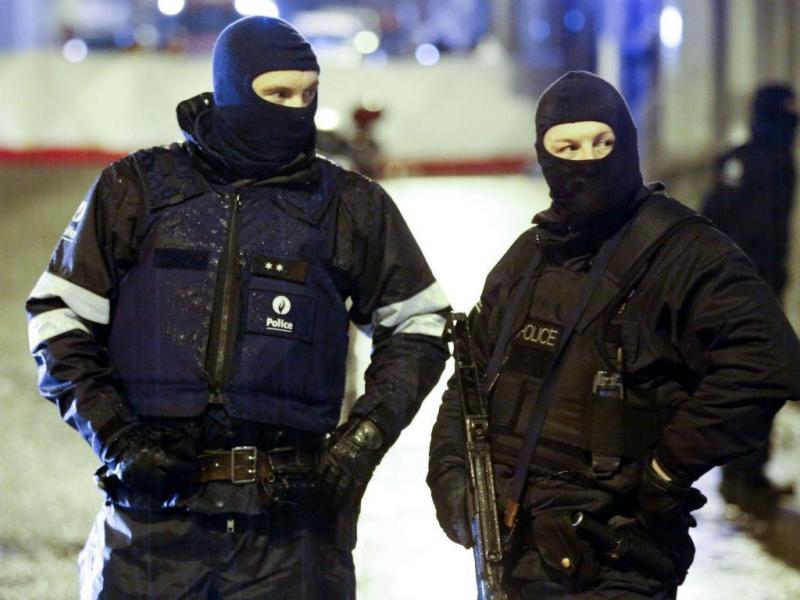 Operação contra o terrorismo na Bélgica (EPA/LUSA)