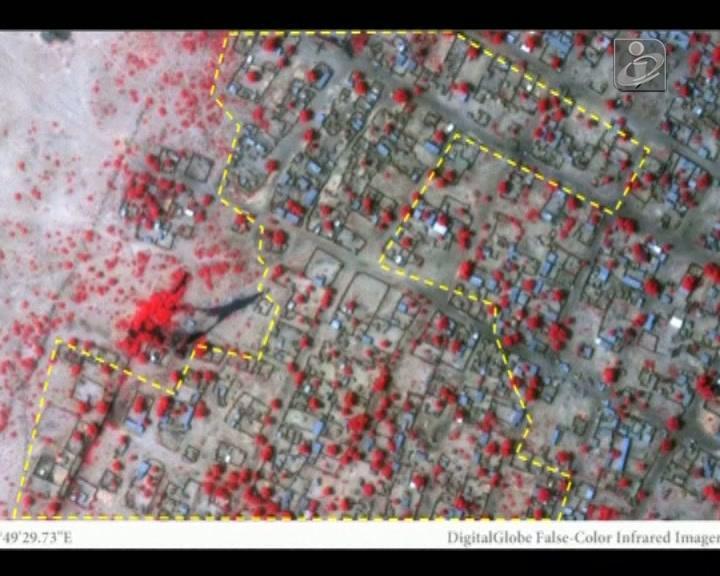 Nigéria: imagens de satélite mostram destruição deixada pelo «Boko Haram»