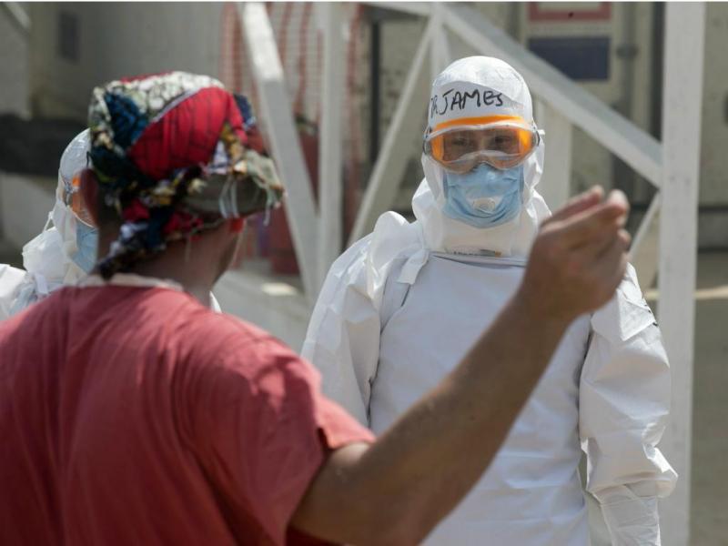 Centro de tratamento de Ébola (REUTERS/Baz Ratner)