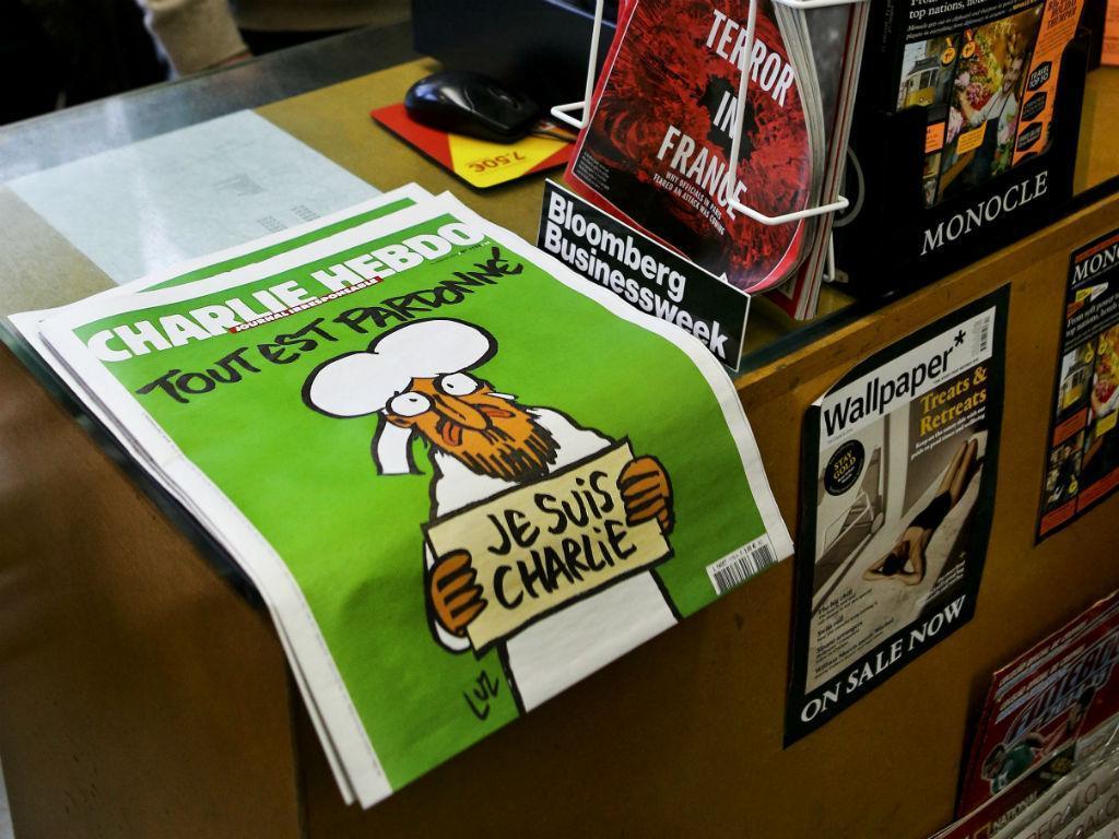 Edição Especial do Charlie Hebdo Portugal (Lusa EPA)