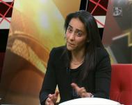 Carla Couto fala na formação no futebol feminino