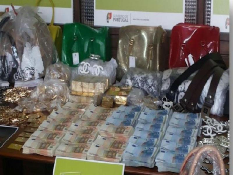 ASAE apreende 140 mil euros em dinheiro (Foto: ASAE)