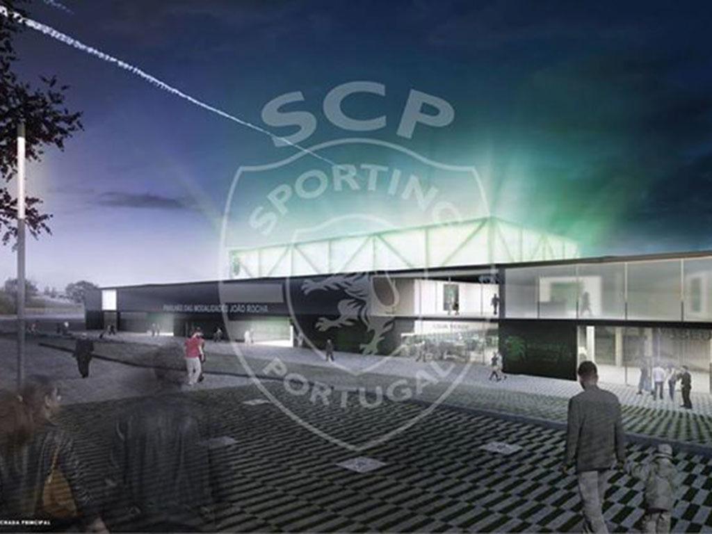 Projecto Pavilhão (Facebook Sporting)