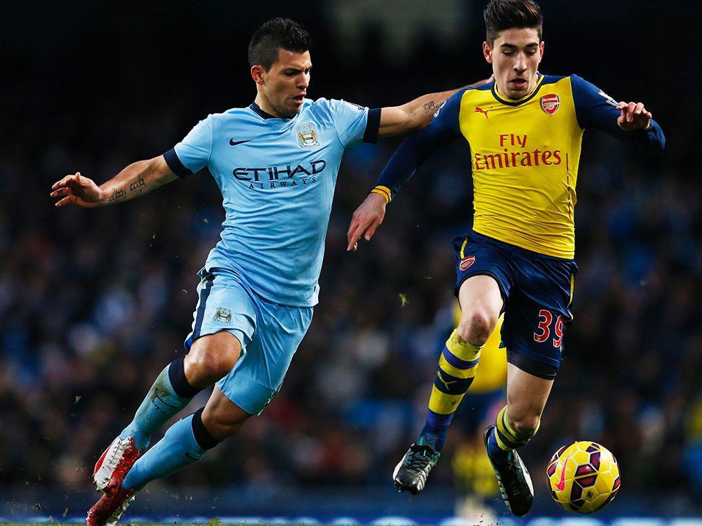 Manchester City-Arsenal (REUTERS/ Darren Staples)