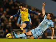 Manchester City-Arsenal (REUTERS/ Darren Staples)