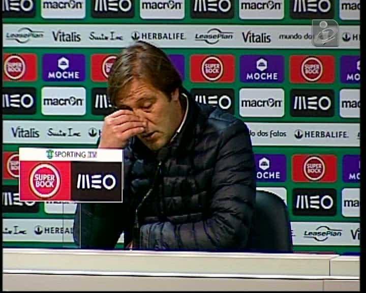 Pedro Martins: «Houve um grande Sporting, mas também houve um grande Rio Ave»