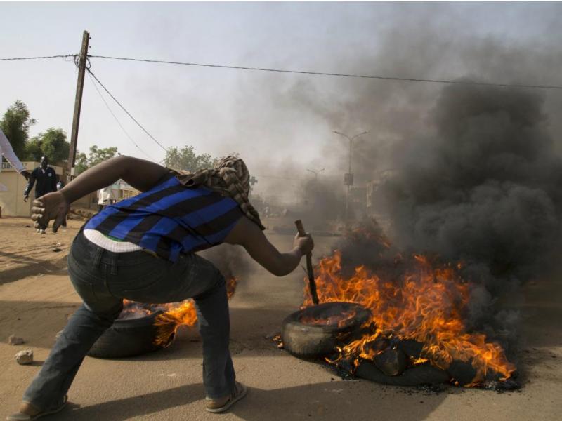 Niger: protestos contra «Charlie Hebdo» [Reuters]