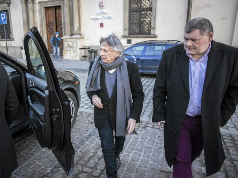 Realizador Roman Polanski após uma conferência de imprensa em Cracóvia a 15 de janeiro de 2015 (REUTERS)