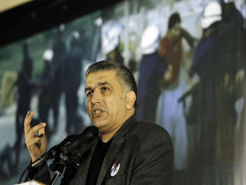 Nabeel Rajab, ativista do Bahrein (REUTERS)