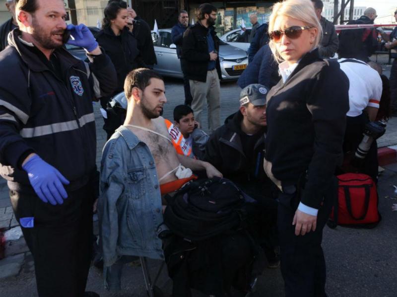 Várias pessoas esfaqueadas num autocarro em Telavive (EPA/LUSA)