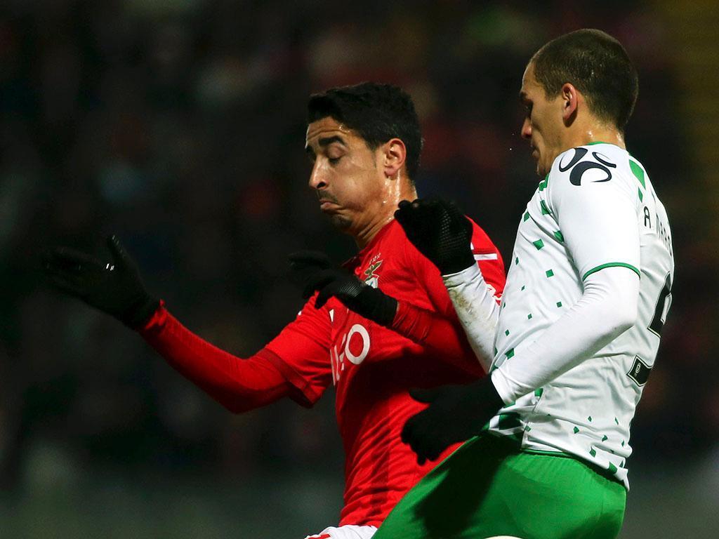 Moreirense-Benfica (EPA/ Estela Silva)